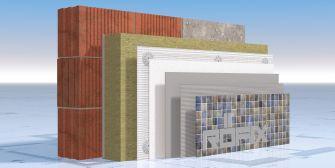 RÖFIX StoneEtics® 50 - FIRESTOP MW с мозайка