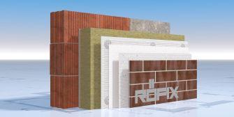 RÖFIX StoneEtics® 50 MW с клинкерни плочи